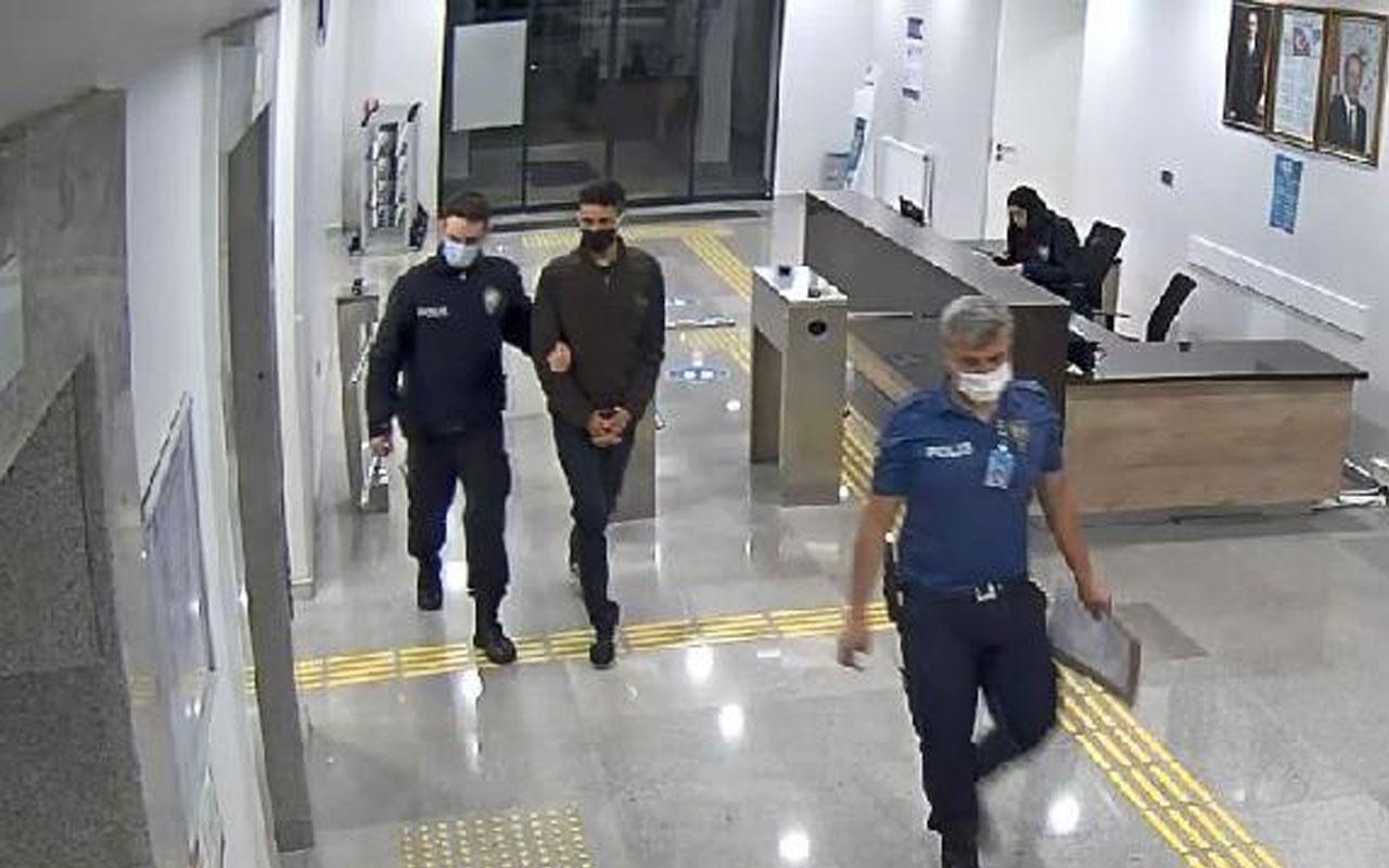 Cezaevinden izinli çıktı Almanya'ya kaçmak isterken havalimanında yakalandı
