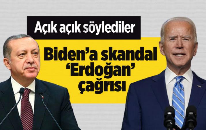 ABD'den Biden'e skandal 'Erdoğan' çağrısı: Gordiyon düğümünü kesmeli