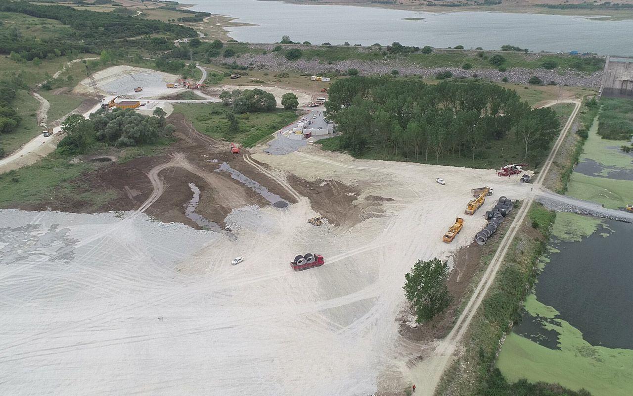 Kanal İstanbul'un temeli işte burası! Projenin ilk köprüsü için hummalı çalışmalar başladı