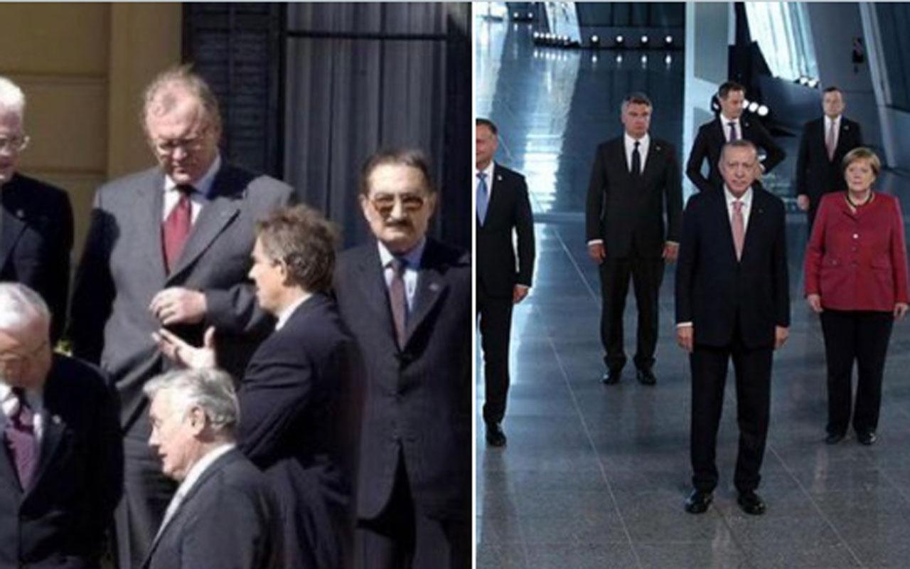 Melih Gökçek 'nerden nereye' dedi 2 NATO aile fotoğrafı paylaştı sosyal medyada kıyamet koptu