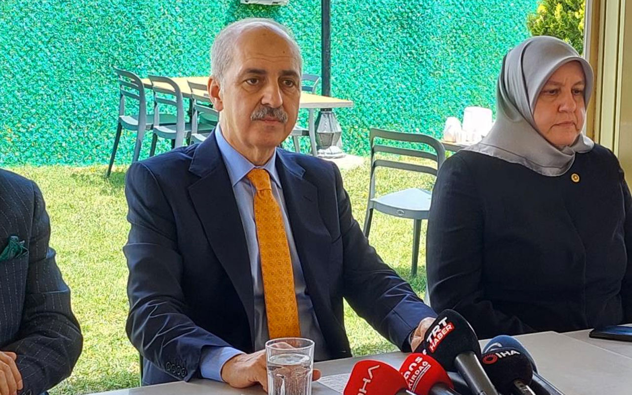 AK Parti Genel Başkanvekili Numan Kurtulmuş'tan yeni anayasa açıklaması