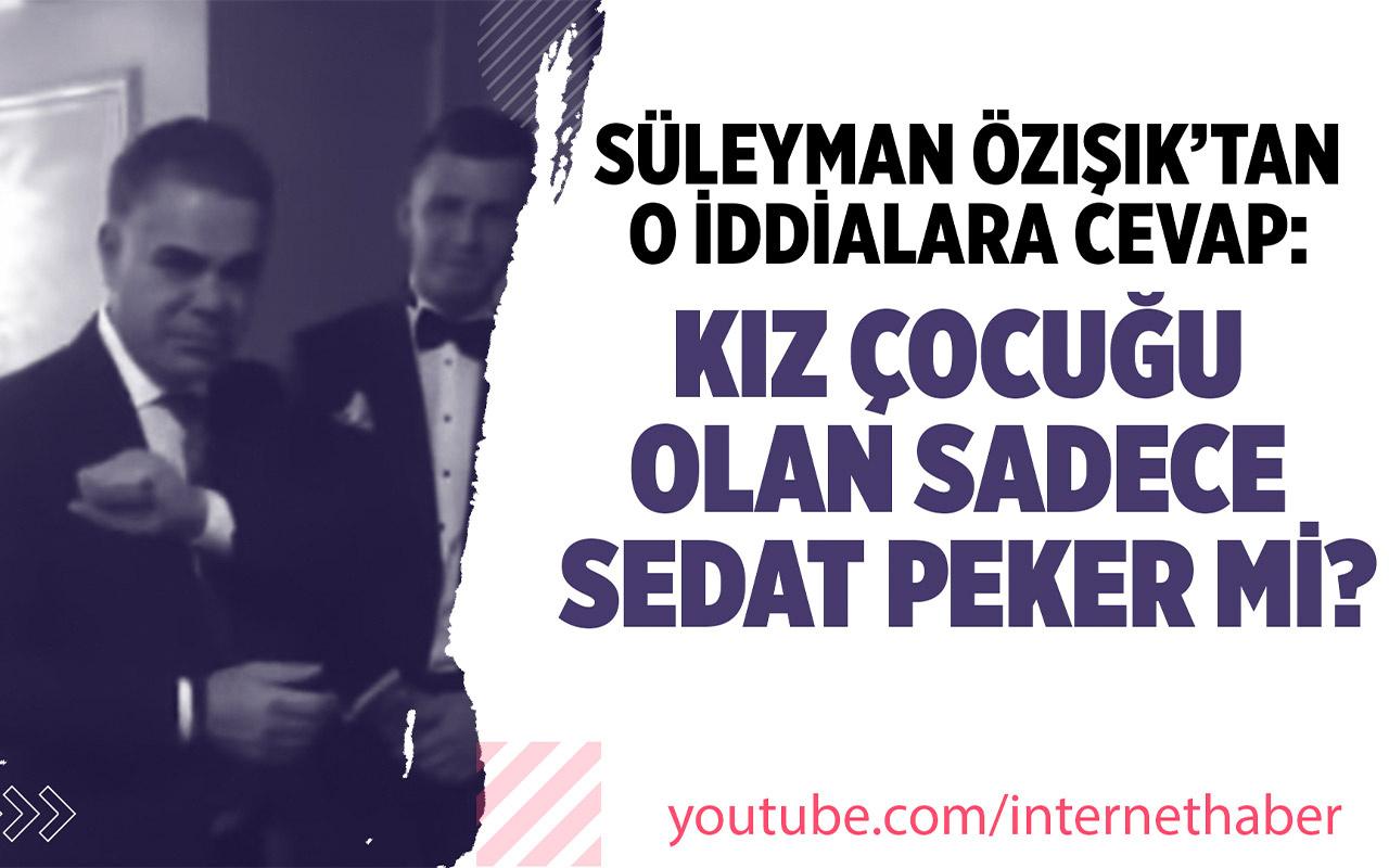 Süleyman Özışık Sedat Peker'e yaptığı işaretle ilgili yorumlara cevap verdi!