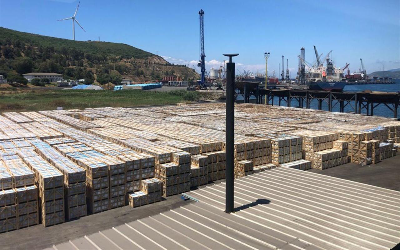 Dünyadaki konteyner sorununa Türk mermer ihracatçısından ahşap çözüm