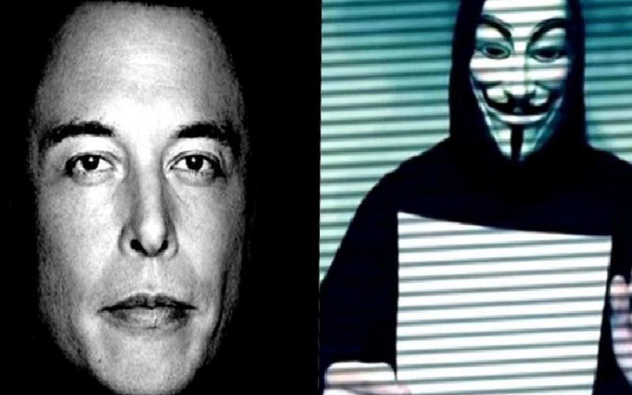 Elon Musk'ın 'Anonymous' Tweet'i yankı uyandırdı! Hacker grubuyla dalga geçti