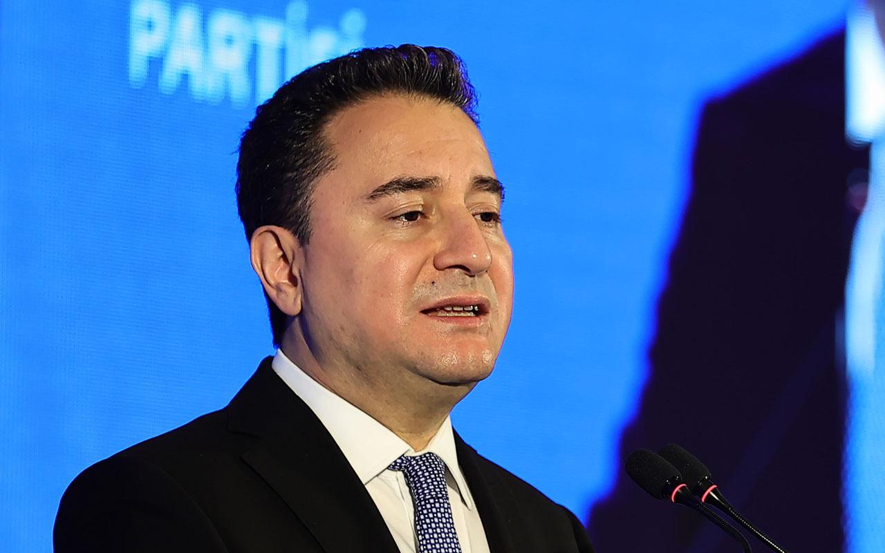 Ali Babacan'dan cumhurbaşkanı adayı olacak mı? sorusuna yanıt