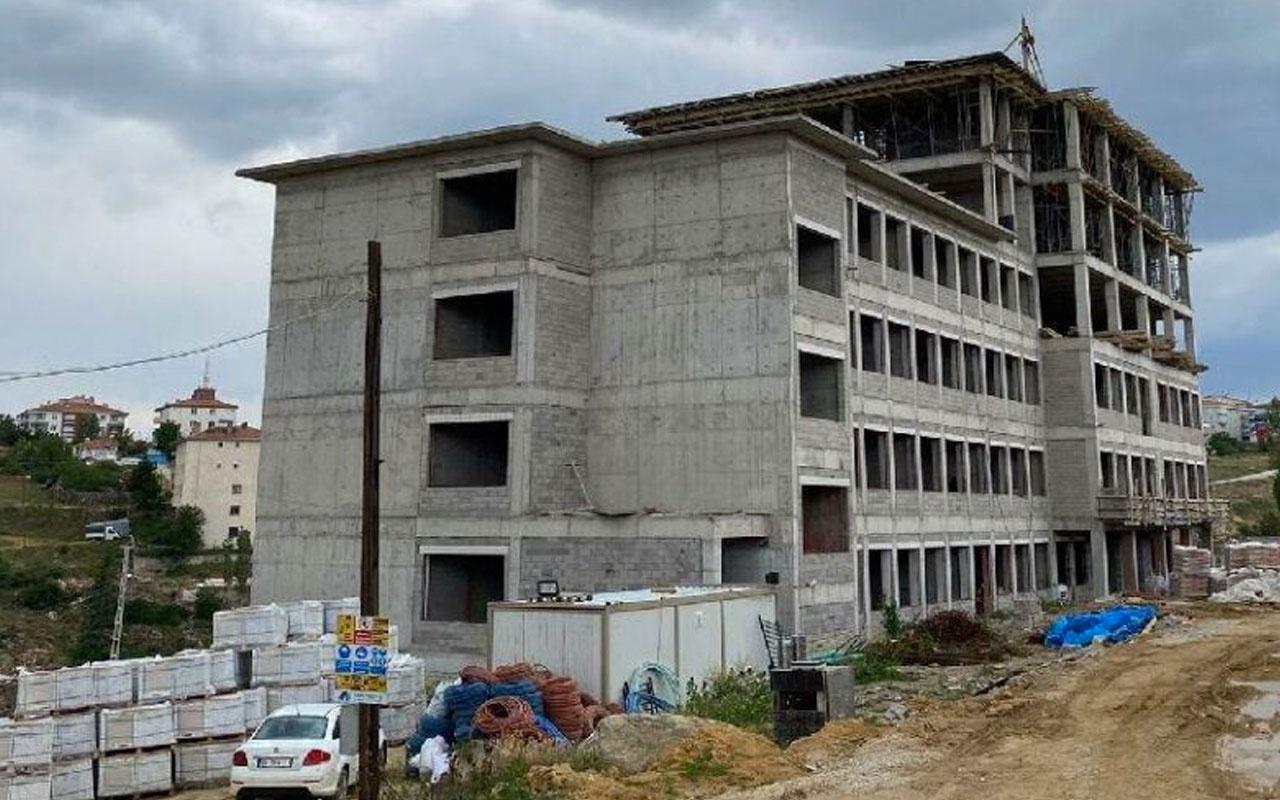 Ankara'da okul inşaatında iskele çöktü: 2 işçi öldü