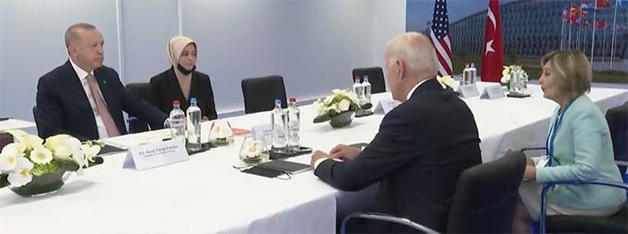 Joe Biden görüşmesinde Erdoğan'ın yanındaki isim bakın kim çıktı? Merve Kavakçı ile ilgisi ne? - Internet Haber