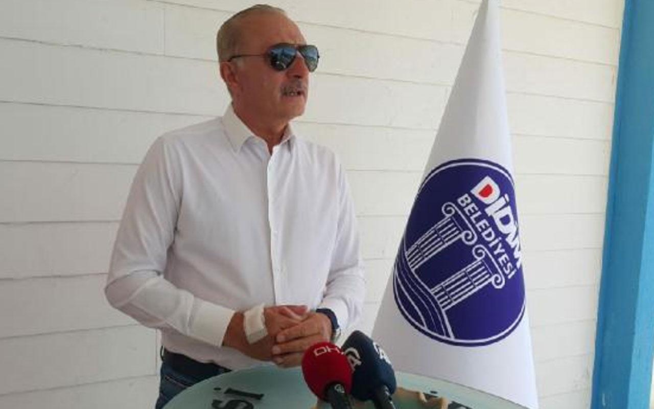 Didim Belediye Başkanı Deniz Atabay ile avukatına sopayla saldırı! 6 zanlı adliyede