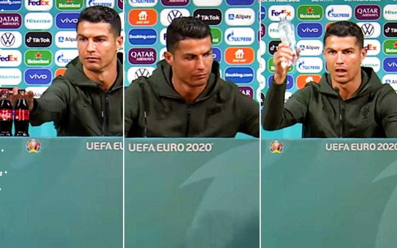 Ronaldo'nun kola tepkisi Coca-Cola'ya 4 milyar dolar zarar verdi