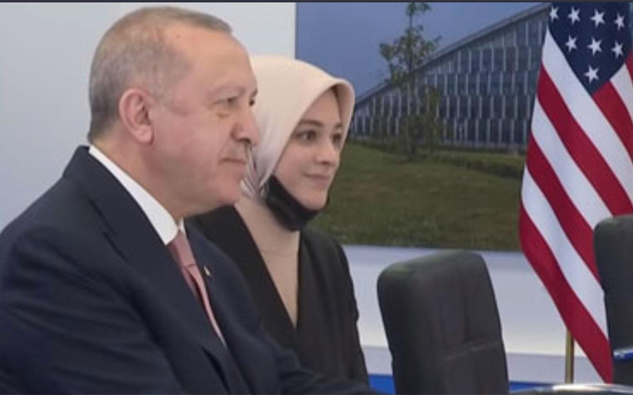 Joe Biden görüşmesinde Erdoğan'ın yanındaki isim bakın kim çıktı? Merve Kavakçı ile ilgisi ne?