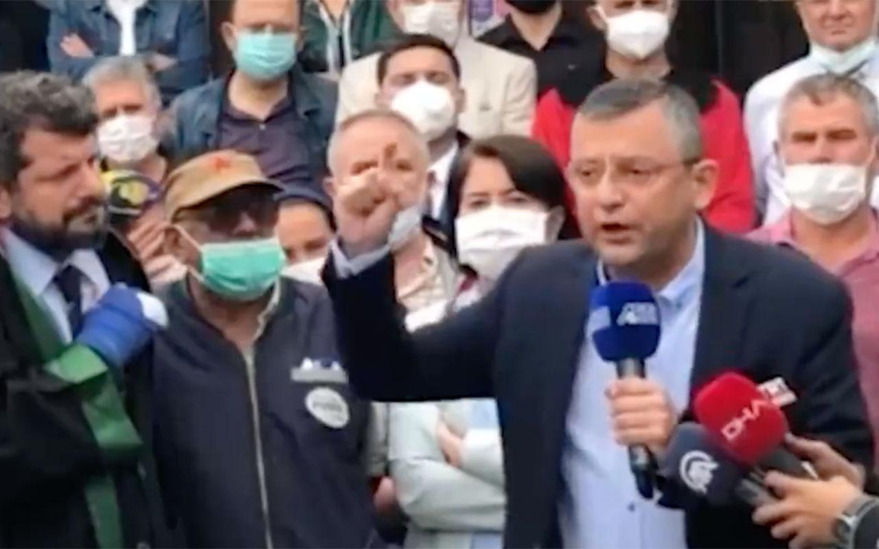 CHP'li Özgür Özel, Soma davası sonrası gözyaşlarına boğuldu: 'Peşini bırakmayacağız'