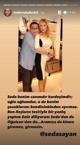 Seda Sayan ve Mehmet Ali Erbil barıştı! Tecavüz tartışmasında şok gelişme!