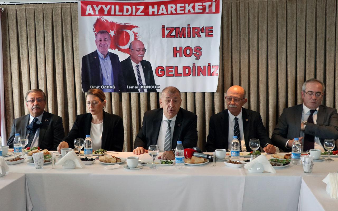 Bağımsız İstanbul milletvekili Ümit Özdağ: Partinin ismi belirlendi