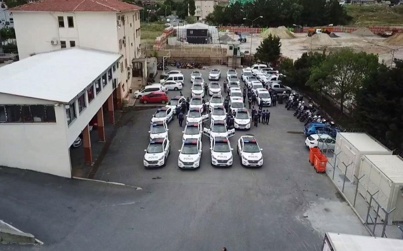 İstanbul polisinden 'şok' denetimi 58 şüpheli yakalandı