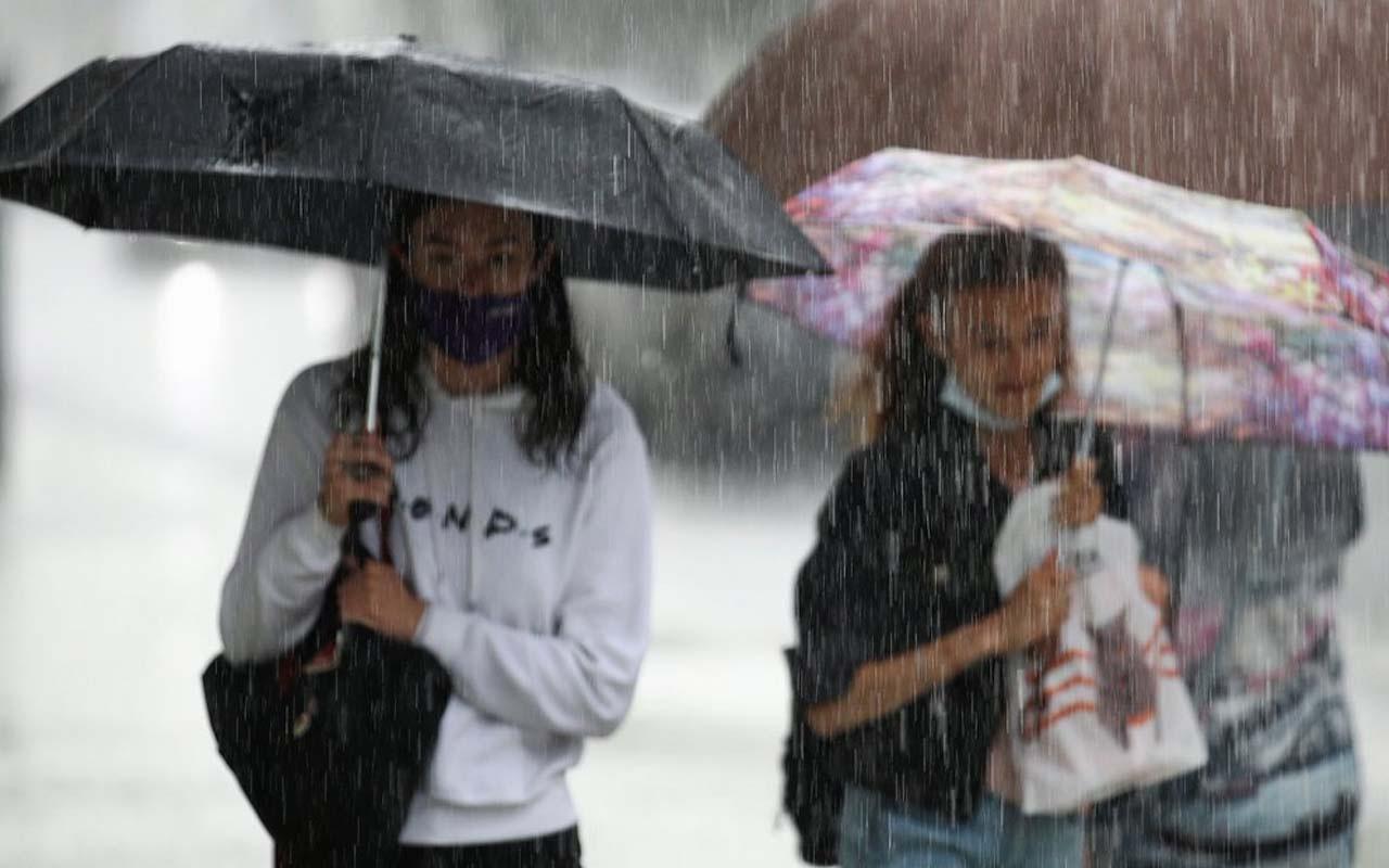 İstanbul'da sağanak yağış sürecek! Meteoroloji 3 bölgeyi uyardı: Kuvvetli geliyor