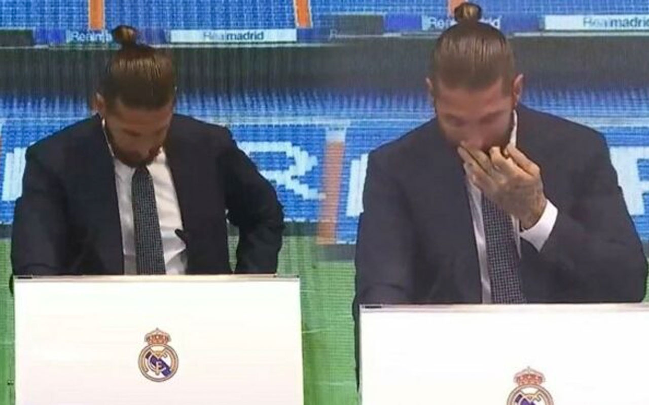 Sergio Ramos 16 yılın ardından Real Madrid'e gözyaşlarıyla veda etti