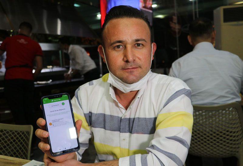 Adana'da kampanyayı duyan hastaneye aşı olmaya koştu