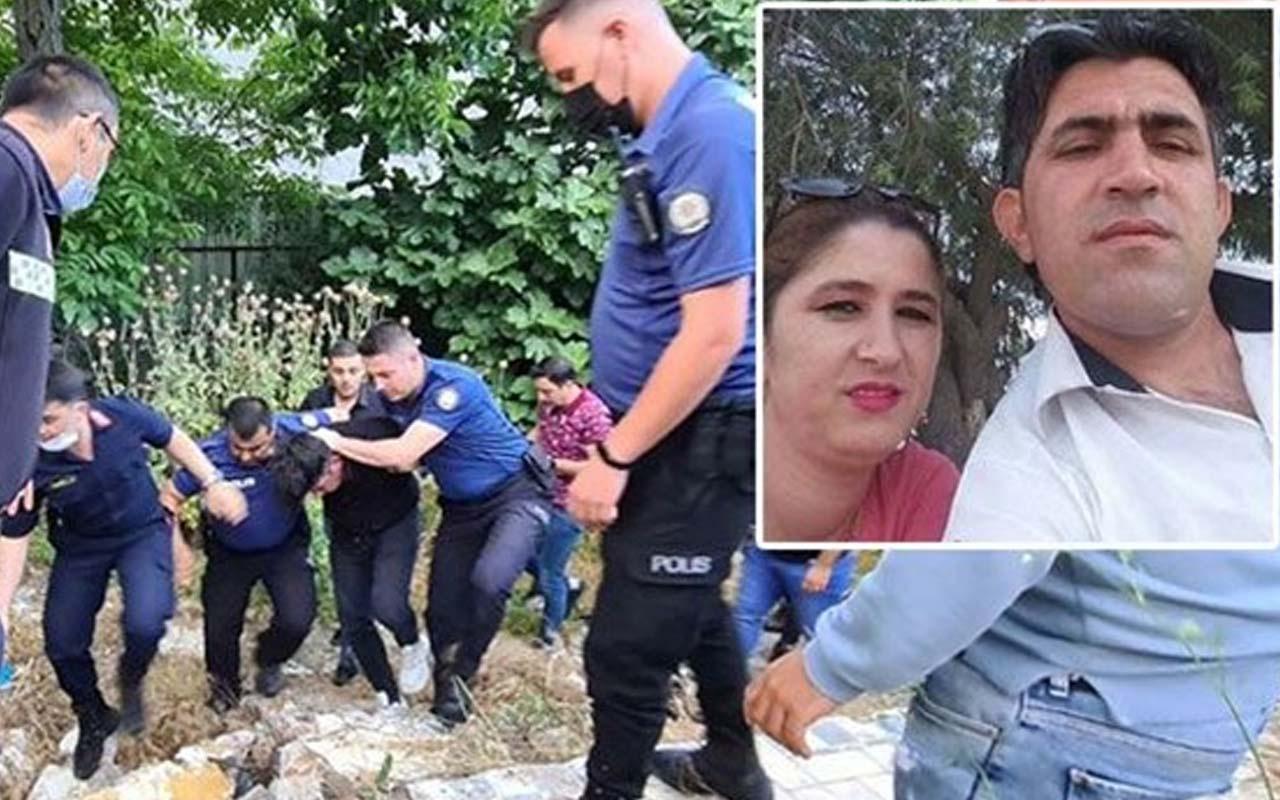 İstanbul'da kadın cinayeti: Katil koca çalılıklarda saklanırken yakalandı