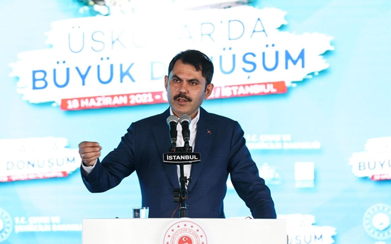 Bakan Murat Kurum: İstanbul'da 5 bin konutluk yeni bir etap daha başlatıyoruz