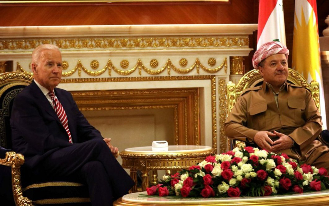 ABD Başkanı Biden'dan Barzani'ye olay sözler: Kürdistan'ın bağımsızlığını göreceğiz