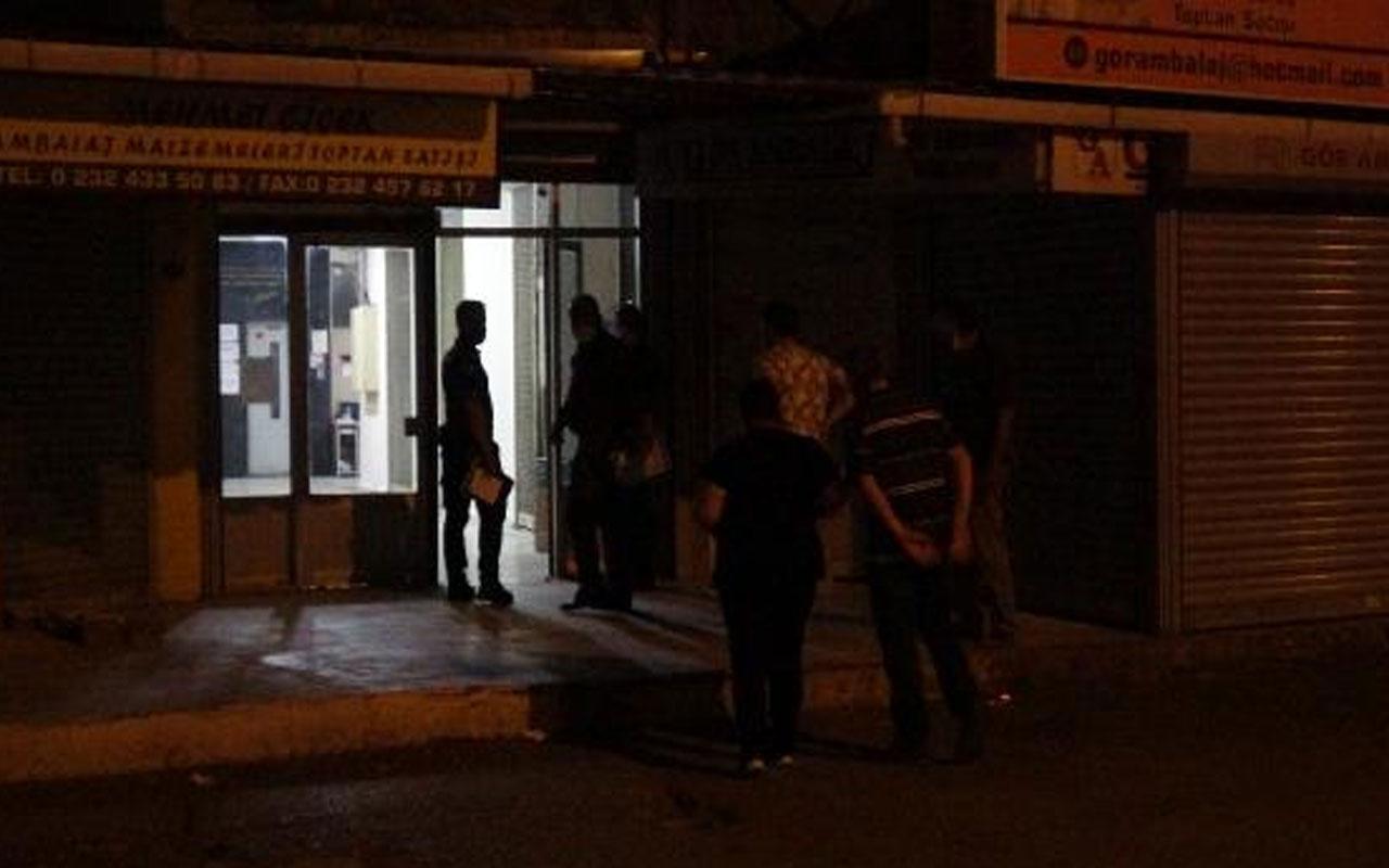İzmir'de mali müşavir ofisinde ölü bulundu! Soruşturma başlatıldı