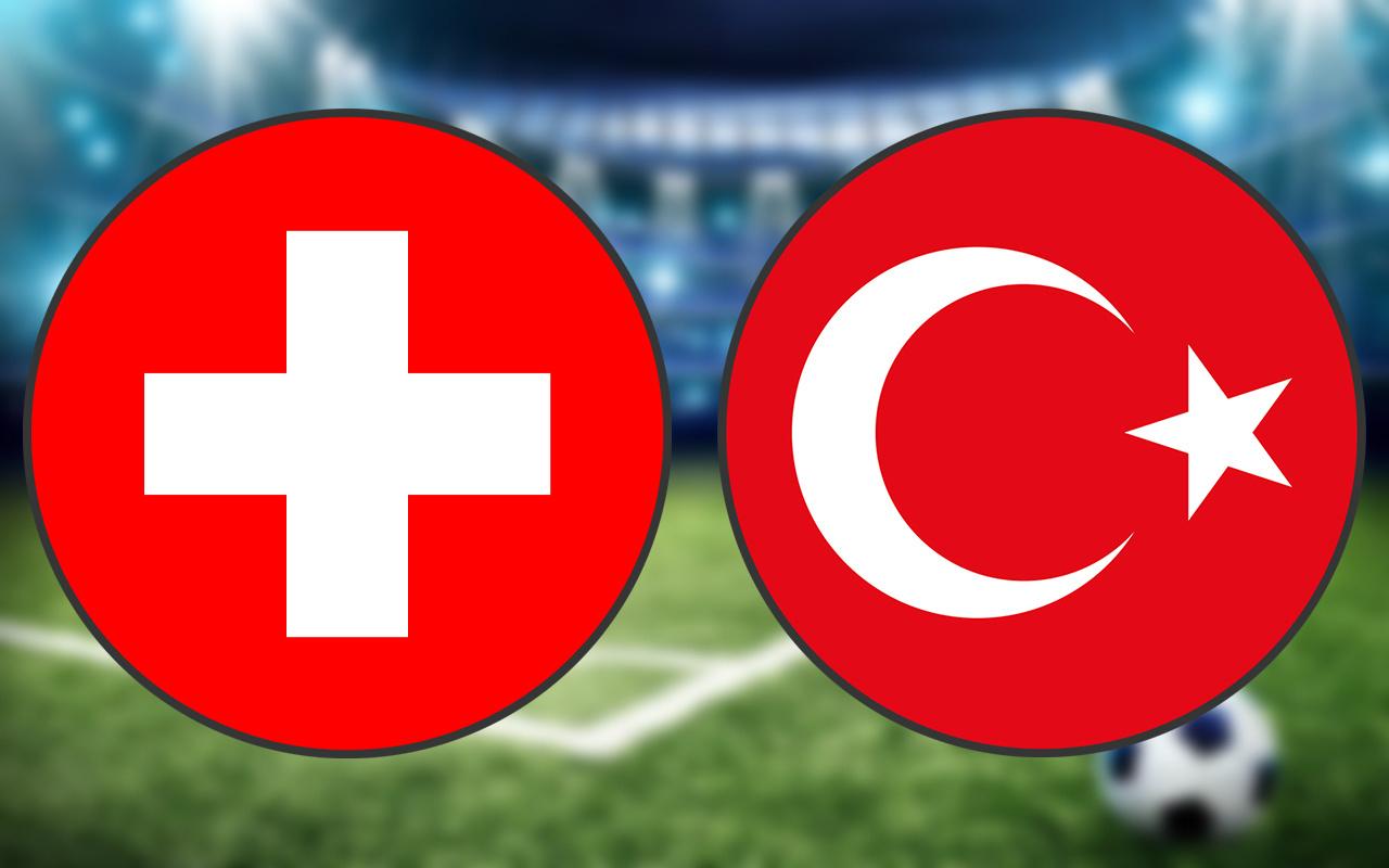 İsviçre Türkiye EURO 2020 maçında ilk 11'ler belli oldu