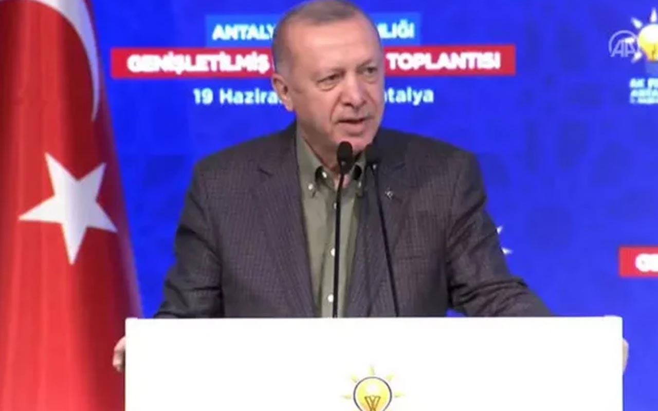 Cumhurbaşkanı Erdoğan: Bırakın gidenler gitsin, hiç umursamayın