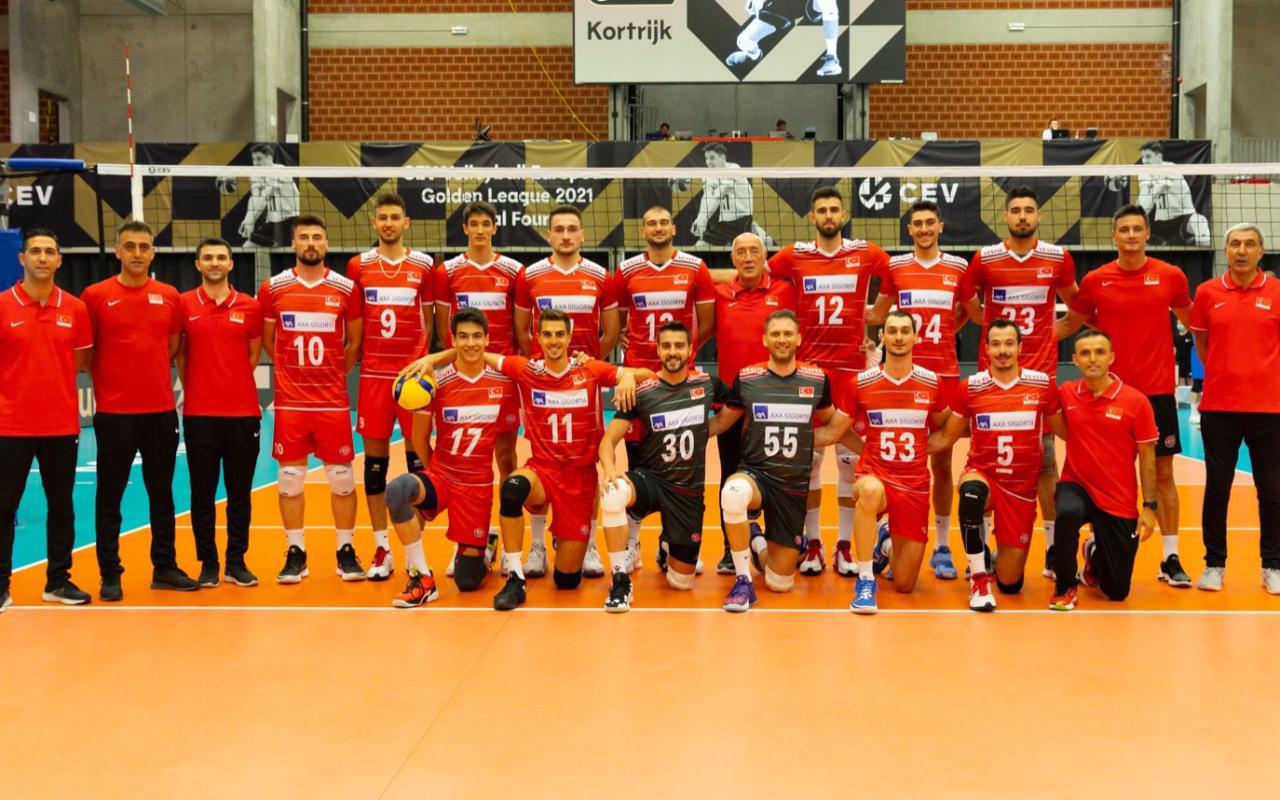 A Milli Erkek Voleybol Takımımız Avrupa Altın Ligi'nde şampiyon oldu