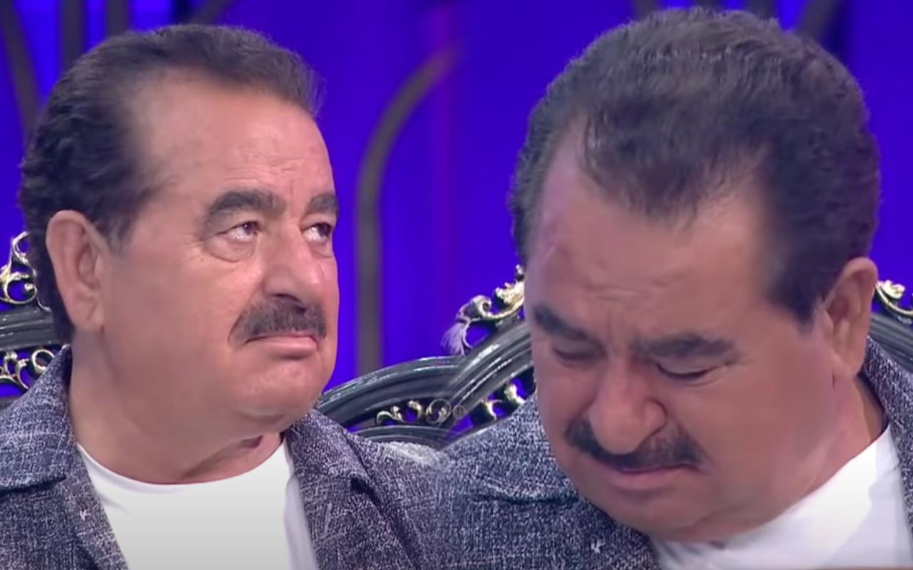 27 yıl inkar etmişti İbo Show'da görünce İbrahim Tatlıses gözyaşlarını tutamadı: Bu ne hal saç baş