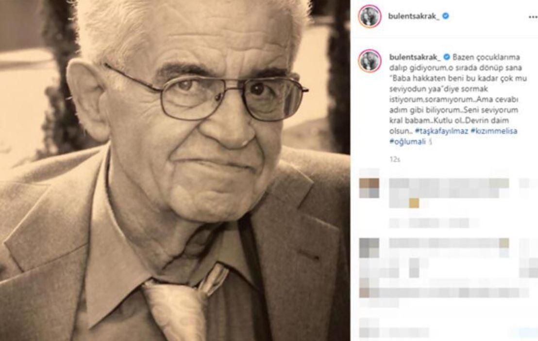Ali Sunal'ın Kemal Sunal paylaşımı yürek burktu! İşte ünlülerin 'Babalar Günü' paylaşımları