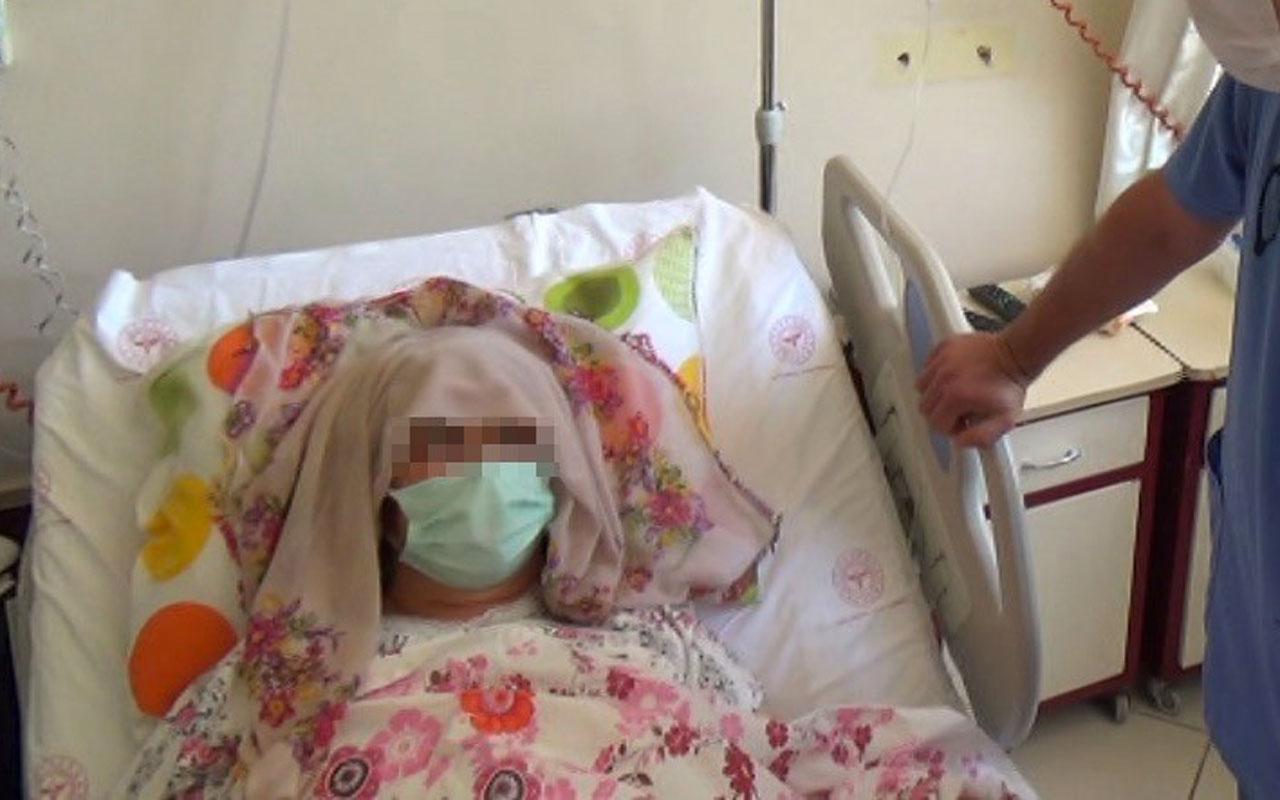 Karın ağrısı şikayetiyle gitti Aydın'da kadının karnından çıkardılar! Ender rastlanan vaka