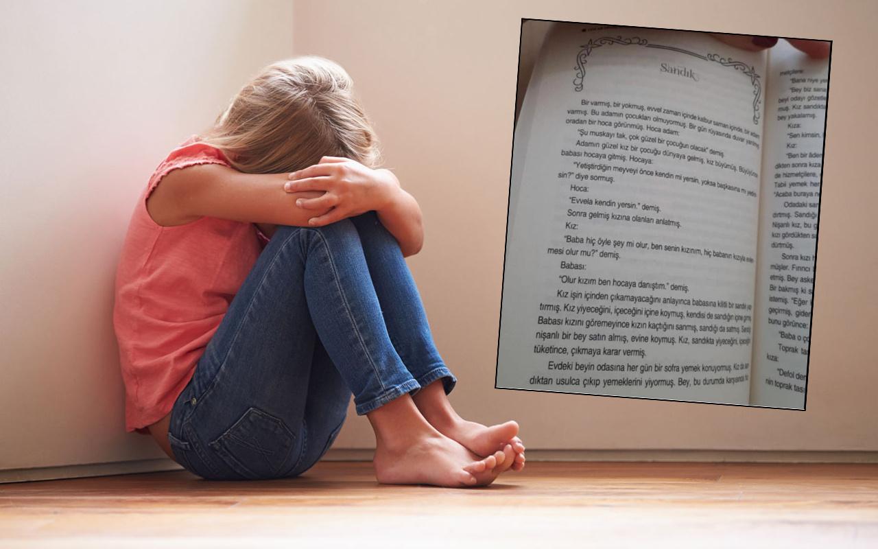 Çocuk kitabındaki iğrenç cümleler ortaya çıktı: Yetiştirdiğin meyveyi önce kendin yersin