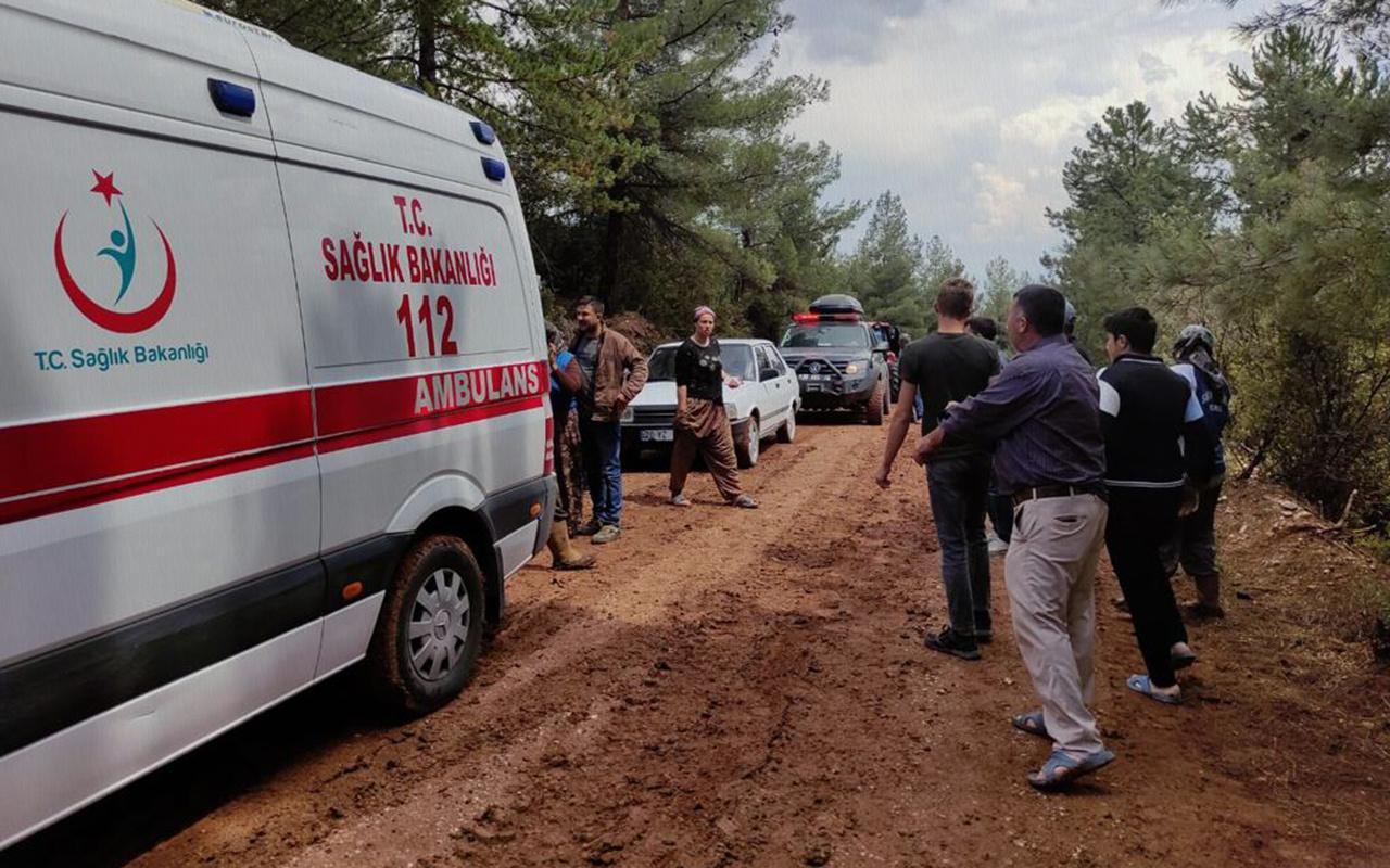 Denizli'de tarlada çalışan 7 kişi yıldırım düşmesi sonucu yaralandı