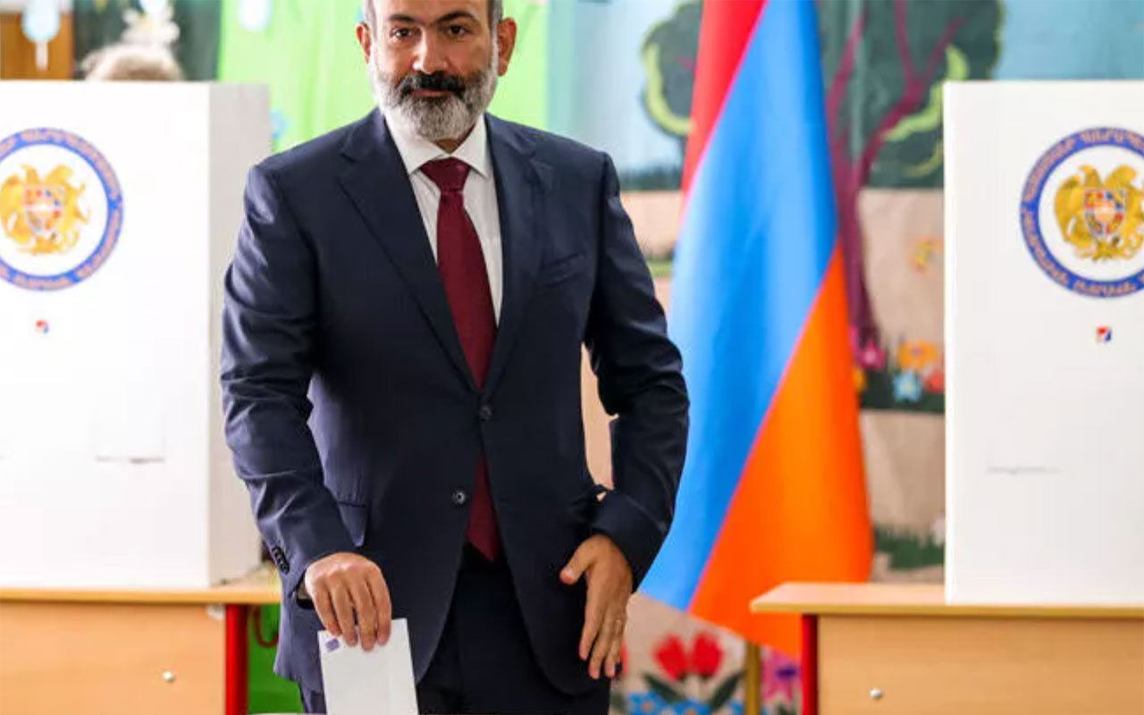 Azerbaycan hezimeti de yıkamadı! Ermenistan'da seçimi Paşinyan'ın partisi kazandı