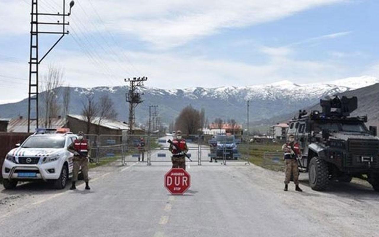 Bitlis'te 19 köy ve mezralarında sokağa çıkma yasağı ilan edildi
