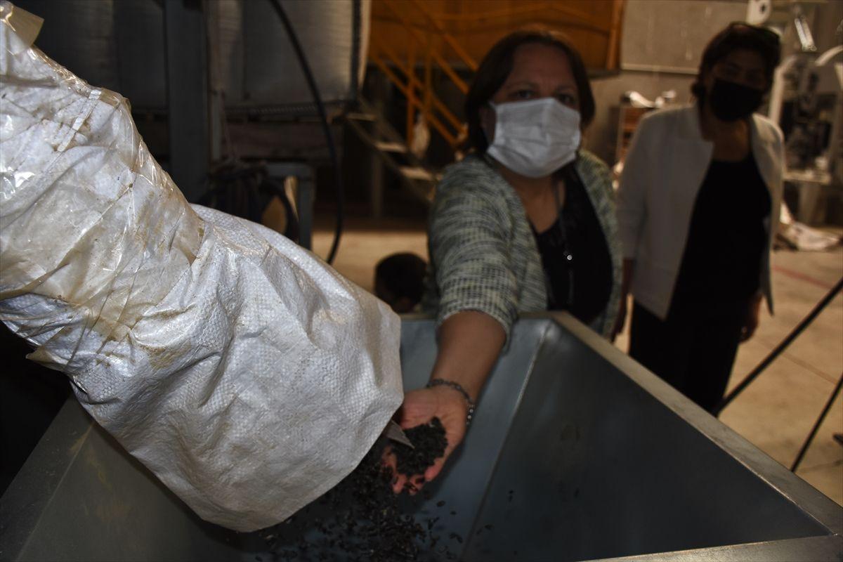Eşiyle beraber Konya'da fabrika kurdu! 20 ülke sipariş için sıraya girdi