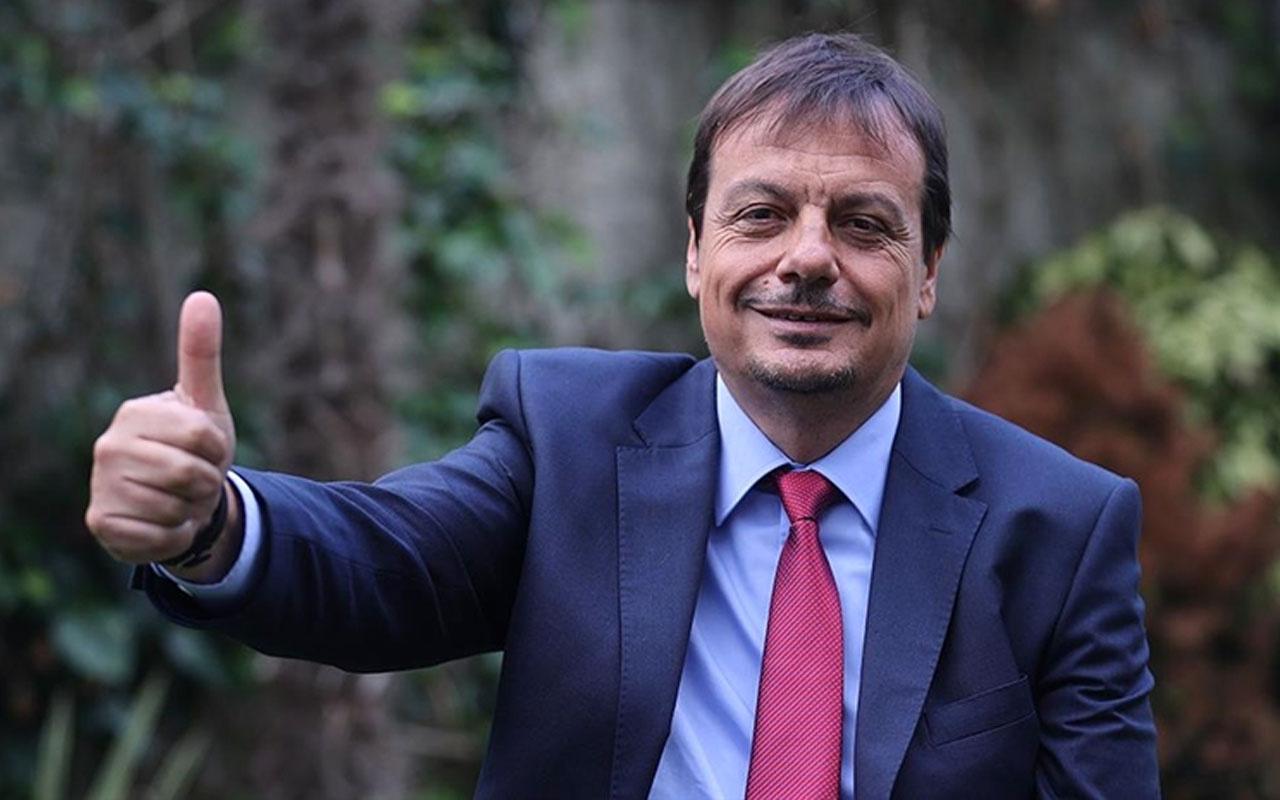 THY Avrupa Ligi'nde geçen sezonun en iyi başantrenörü ödülünü Ergin Ataman kazandı
