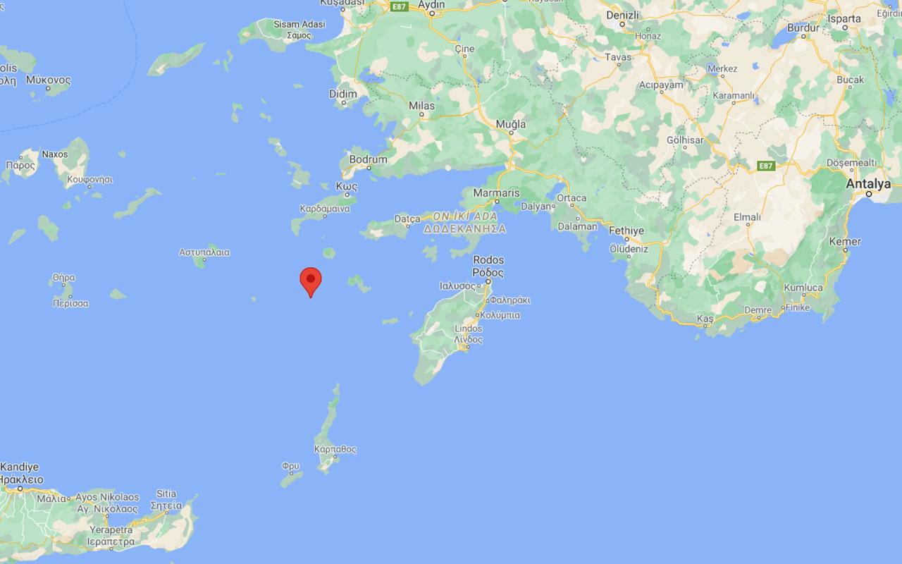 Muğla Datça açıklarında deprem oldu! AFAD ve Kandilli büyüklüğünü açıkladı