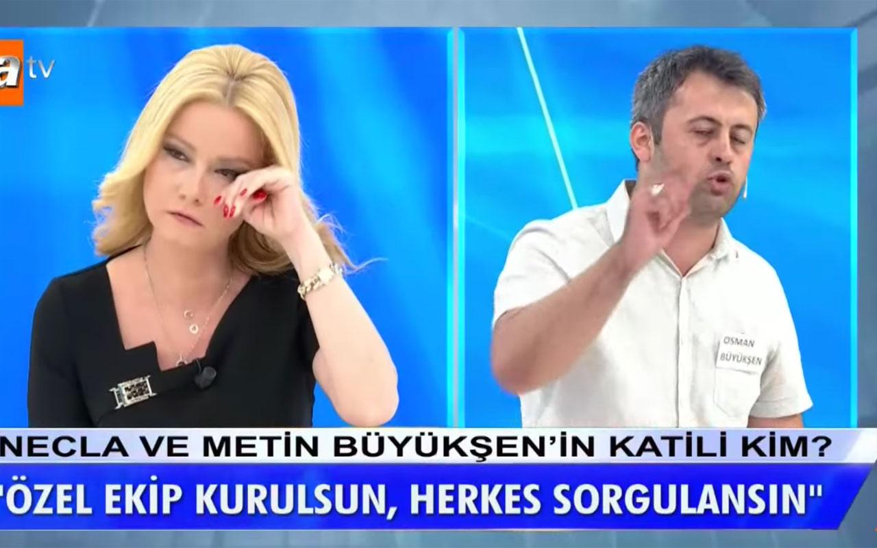 Müge Anlı Tatlı Sert'te Doktor Osman Büyükşen ağlayarak patladı