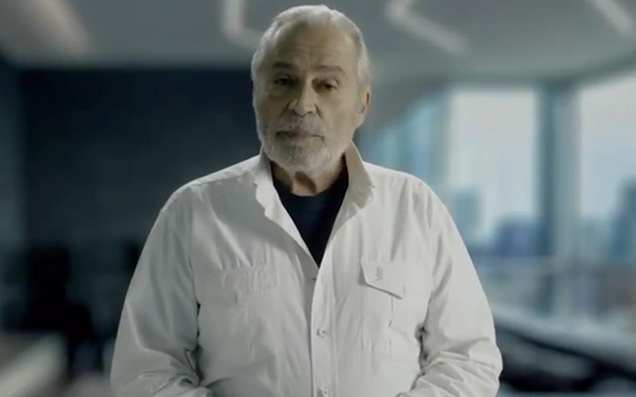 Haluk Bilginer'in aşı çağrısı videosu! Sağlık Bakanı Fahrettin Koca paylaştı