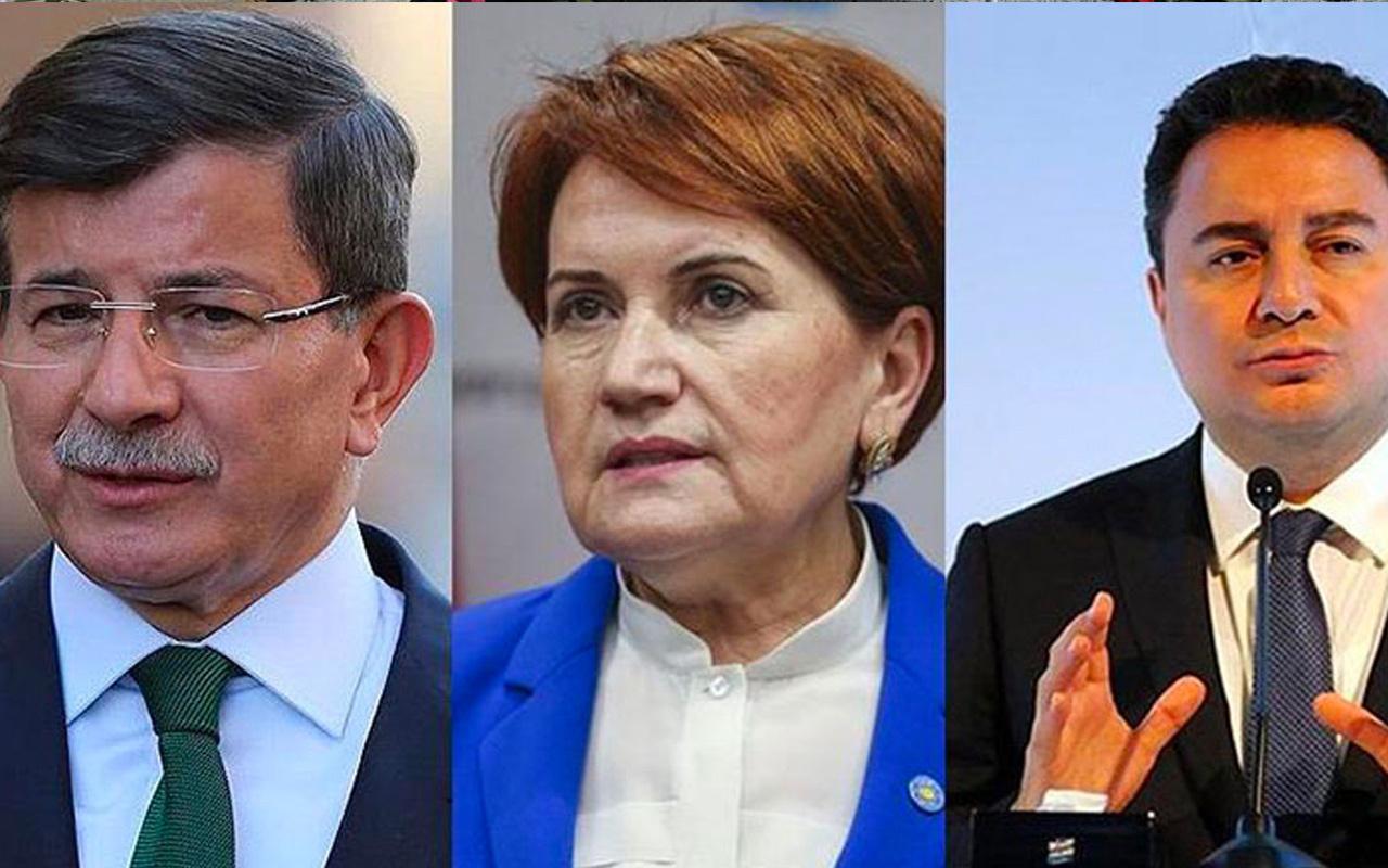 Üçlü ittifak iddiası! Bu olursa Meral Akşener'in işi zor