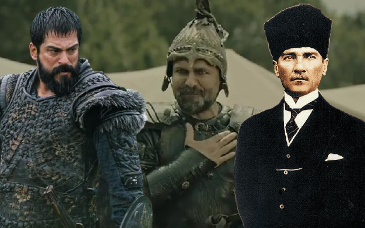 Açıklama geldi! ATV Kuruluş Osman'da Atatürk'ün sözünü Bizans komutanı söyledi