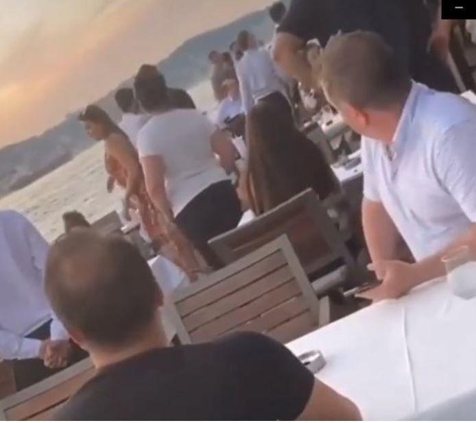 Şevval Şahin'in eski sevgilisi Marcus, yeni sevgilisi Kerem Sabancı Kamışlı'yı denize attı!