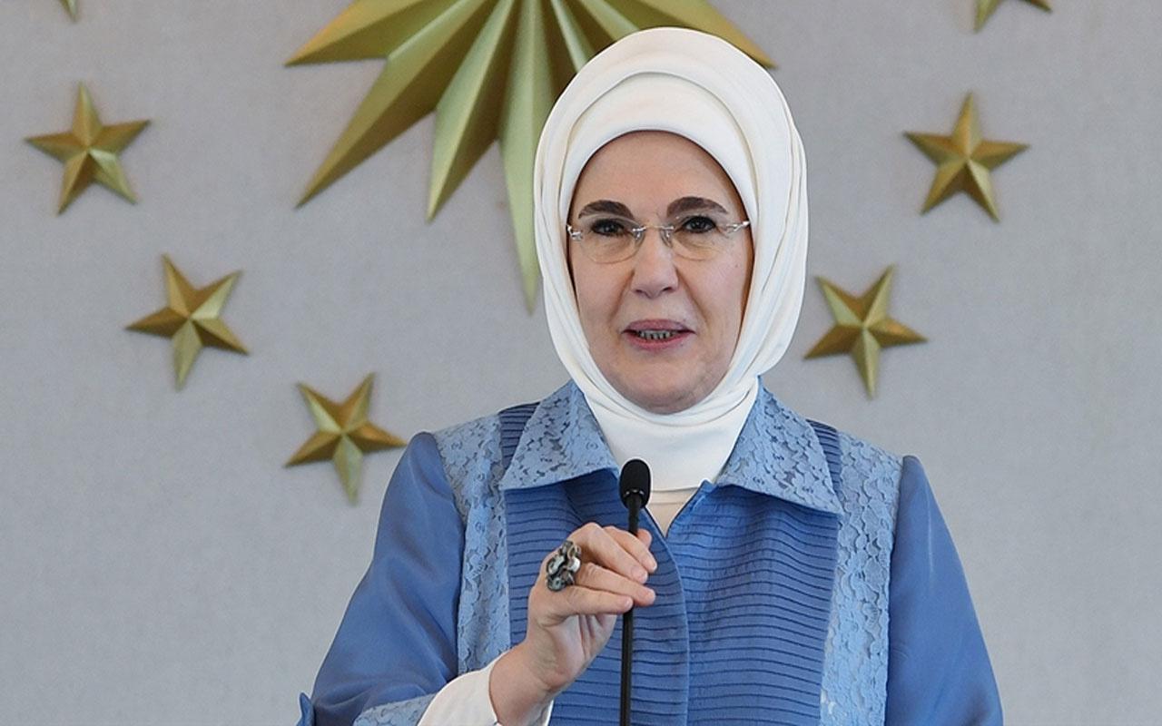 Emine Erdoğan YKS'ye giren üniversite adaylarına başarı diledi