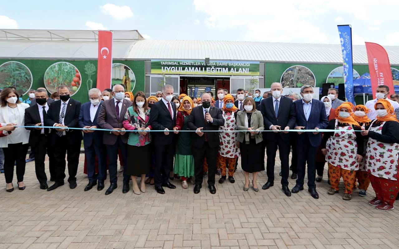 Gaziantep'te toplam yatırım bedeli 55 milyon lira olan 8 projenin açılışı yapıldı