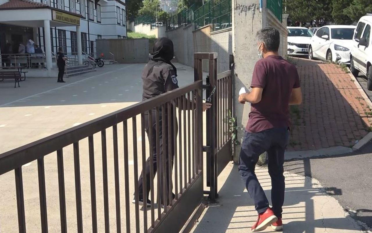 Bursa'da bir öğrenci dört saniyeyle sınava giremedi