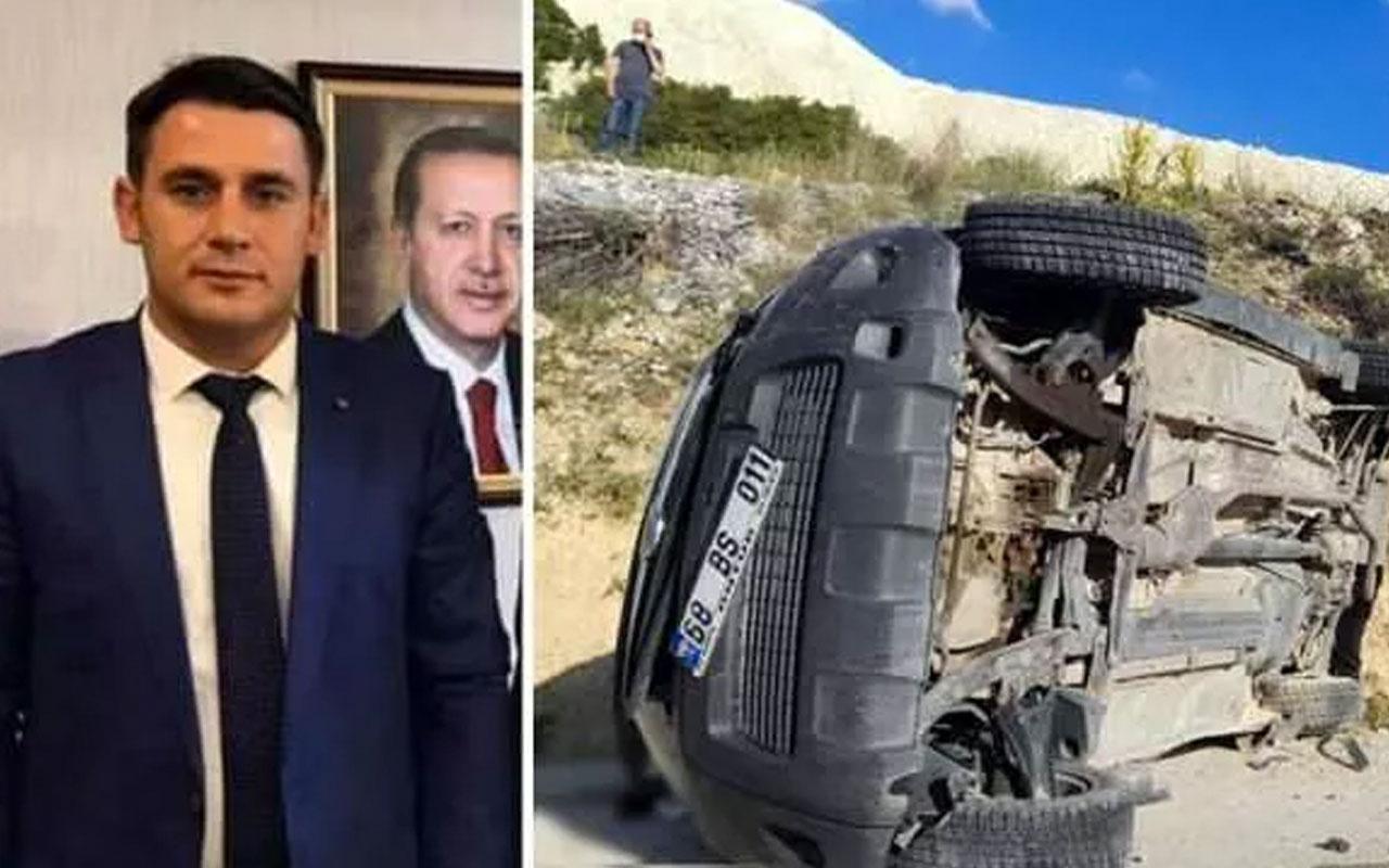 DSİ Burdur Şube Müdürü kazada yaşamını yitirdi