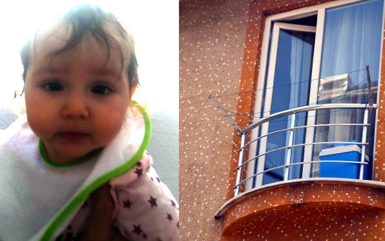 Balkon faciası! 1 yaşındaki çocuk balkon korkuluklarının arasından düştü