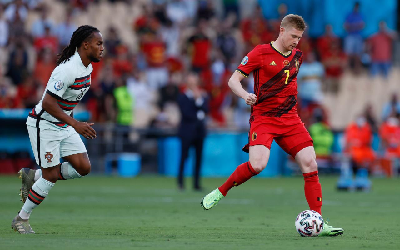 Belçika son Avrupa şampiyonu Portekiz'i saf dışı bıraktı