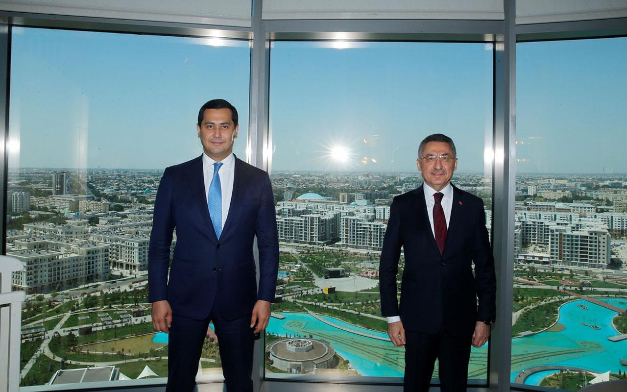 Cumhurbaşkanı Yardımcısı Fuat Oktay Özbekistan'da
